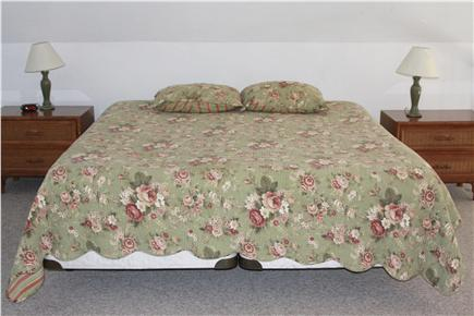 Oak Bluffs Lagoon Pond area Martha's Vineyard vacation rental - King Bed in Master Bedroom