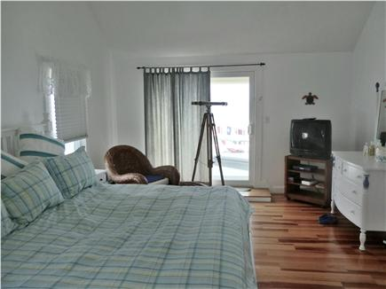 Oak Bluffs Martha's Vineyard vacation rental - Master bedroom/bath porch