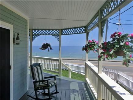Oak Bluffs Martha's Vineyard vacation rental - Side porch view