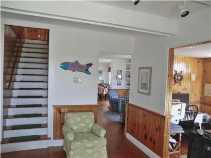 Oak Bluffs Martha's Vineyard vacation rental - Stairwell to second floor
