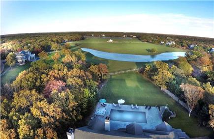 West Tisbury Martha's Vineyard vacation rental - Aerial View