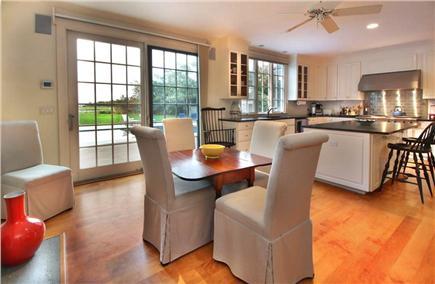 West Tisbury Martha's Vineyard vacation rental - Eat in Kitchen