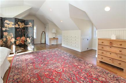 West Tisbury Martha's Vineyard vacation rental - Carriage House Bedroom and Sitting Area