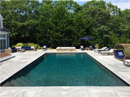 West Tisbury Martha's Vineyard vacation rental - Deck, Outdoor Kitchen and Pool