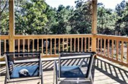 Katama - Edgartown, Edgartown Martha's Vineyard vacation rental - Deck view