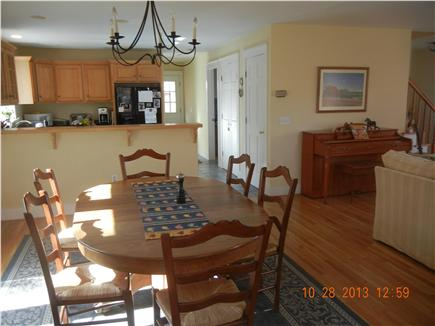 West Tisbury Martha's Vineyard vacation rental - Dining room, kitchen, living room