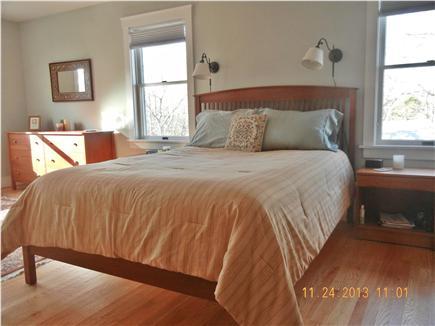 West Tisbury Martha's Vineyard vacation rental - Master bedroom