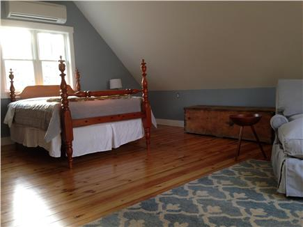 West Tisbury Martha's Vineyard vacation rental - Master bedroom main house 2nd floor