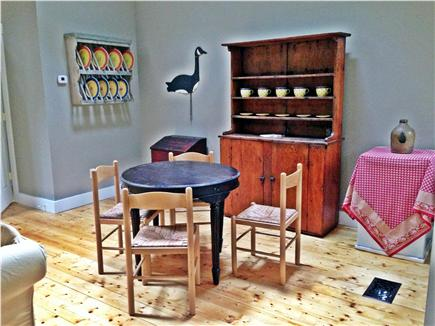West Tisbury Martha's Vineyard vacation rental - Breakfast nook carriage house