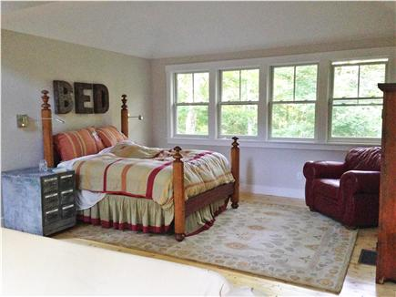 West Tisbury Lambert's Cove Martha's Vineyard vacation rental - Guest house sleeping area.