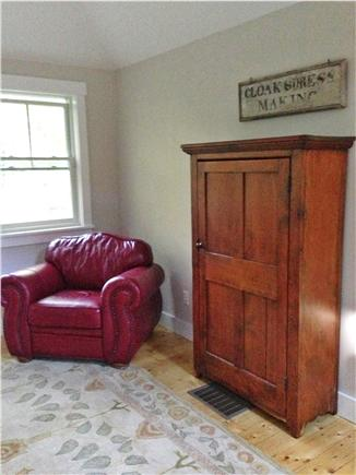 West Tisbury Martha's Vineyard vacation rental - Bedroom alcove carriage house