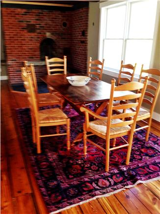 West Tisbury Martha's Vineyard vacation rental - Dining area