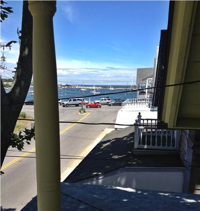 Oak Bluffs, Gingerbread Houses Martha's Vineyard vacation rental - View of harbor from balcony