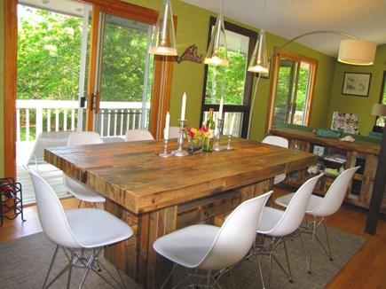 West Tisbury, Longpoint Beach Area Martha's Vineyard vacation rental - Dining room