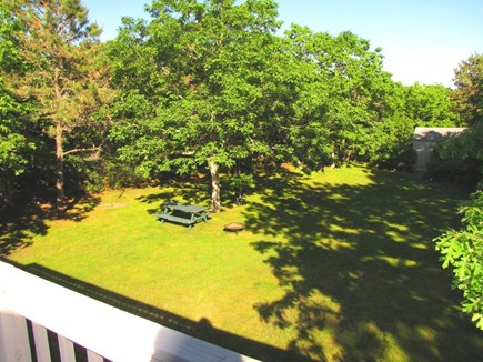 West Tisbury, Longpoint Beach Area Martha's Vineyard vacation rental - Big beautiful yard  perfect for family games &/or relaxing