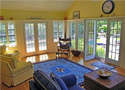 Katama - Edgartown, Edgartown Martha's Vineyard vacation rental - Indoor outdoor living