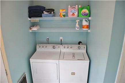 Edgartown Martha's Vineyard vacation rental - First floor laundry