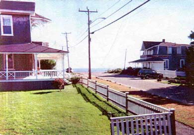 Oak Bluffs, Historic Copeland District  Martha's Vineyard vacation rental - View to water from our front porch