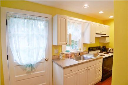 Oak Bluffs Martha's Vineyard vacation rental - Kitchen leads to back deck for easy access