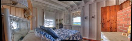 Oak Bluffs Martha's Vineyard vacation rental - Master with Dutch door to the beach!