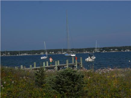 Oak Bluffs Martha's Vineyard vacation rental - View from Cottage (dock not for tenant use)