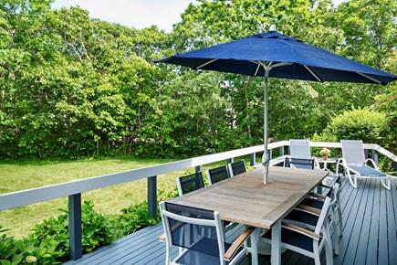 Katama - Edgartown Martha's Vineyard vacation rental - Beautiful Outdoor Sitting Area