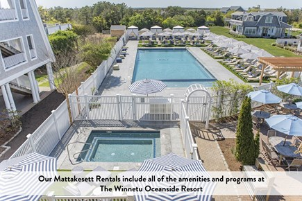 Katama - Edgartown Martha's Vineyard vacation rental - Enjoy our New Pool and Hot Tub at The Winnetu Oceanside Resort!