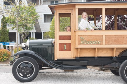 Katama - Edgartown Martha's Vineyard vacation rental - Take a ride on our antique vehicles!