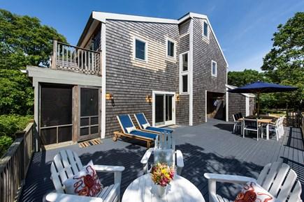 Katama - Edgartown Martha's Vineyard vacation rental - Outdoor deck