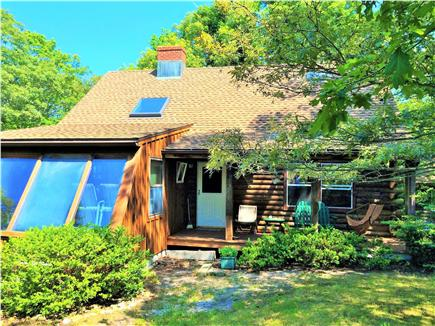 Vineyard Haven Martha's Vineyard vacation rental - FUN LOG CABIN  Vineyard Haven vacation rental ID 24544