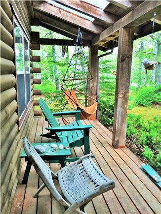 Vineyard Haven Martha's Vineyard vacation rental - Front farmers porch with furniture