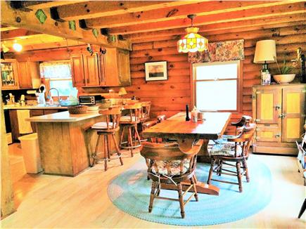 Vineyard Haven Martha's Vineyard vacation rental - Large open space kitchen, snack bar and dining room