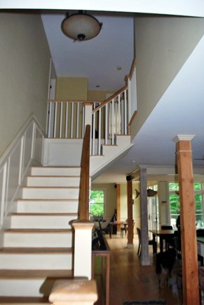West Tisbury Martha's Vineyard vacation rental - Stairs to upstairs and 4 bedrooms