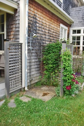West Tisbury Martha's Vineyard vacation rental - Outdoor shower