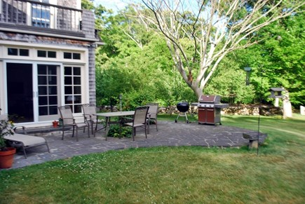 West Tisbury Martha's Vineyard vacation rental - Another view of the patio