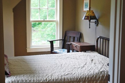 West Tisbury Martha's Vineyard vacation rental - Guest room with full-sized bed with shared bathroom.