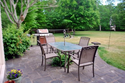 West Tisbury Martha's Vineyard vacation rental - Patio with gas and charcoal grill