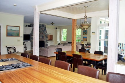 West Tisbury Martha's Vineyard vacation rental - Open first floor