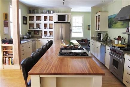 West Tisbury Martha's Vineyard vacation rental - Gourmet Kitchen with island that seats 9, 2 dishwashers, 2 sinks