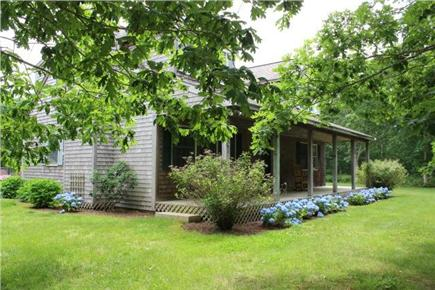 Chilmark Martha's Vineyard vacation rental - Front of the House