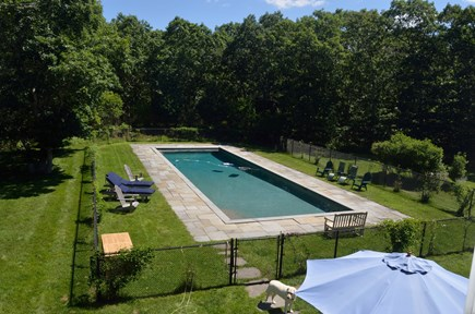 Chilmark Martha's Vineyard vacation rental - Backyard Pool