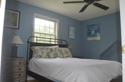 Chilmark Martha's Vineyard vacation rental - 3rd Bedroom with Queen Bed
