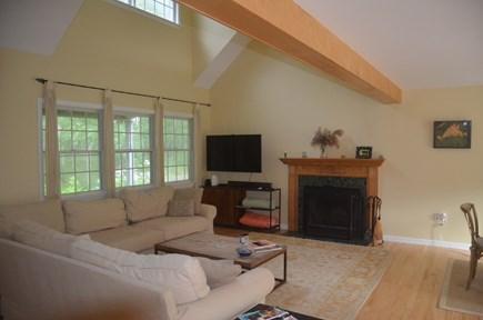 Chilmark Martha's Vineyard vacation rental - Family Room