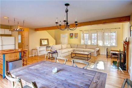 Chilmark Martha's Vineyard vacation rental - Spacious, open kitchen, dining area and Family Room