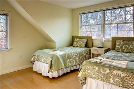 Chilmark Martha's Vineyard vacation rental - 2nd Bedroom w/ 2 Twin Beds