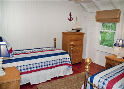 Oak Bluffs, East Chop Martha's Vineyard vacation rental - 2nd floor twin bedroom CHARMING!