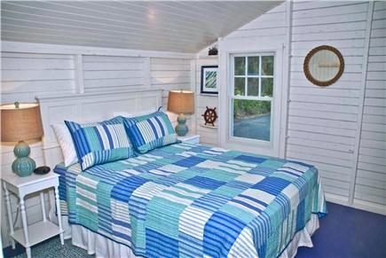 Oak Bluffs, East Chop Martha's Vineyard vacation rental - 1st Floor queen bedroom with adjacent 3 pc bath