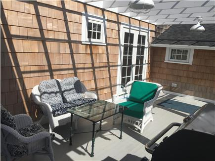 Oak Bluffs, East Chop Martha's Vineyard vacation rental - Side pergola area gets great sun
