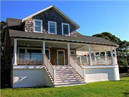 Oak Bluffs, East Chop Martha's Vineyard vacation rental - Enjoy ocean breezes from the large covered wrap around deck