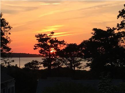 Oak Bluffs, East Chop Martha's Vineyard vacation rental - SUNSETS = Cocktail time!